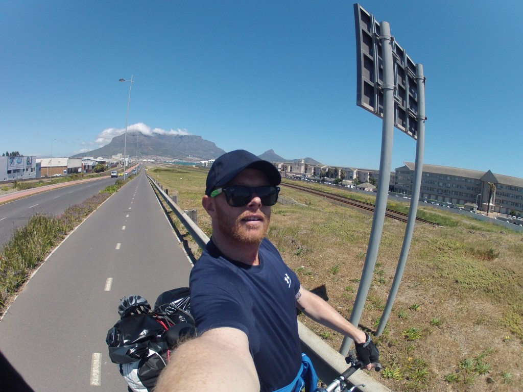 Leaving Cape Town and cycling across africa