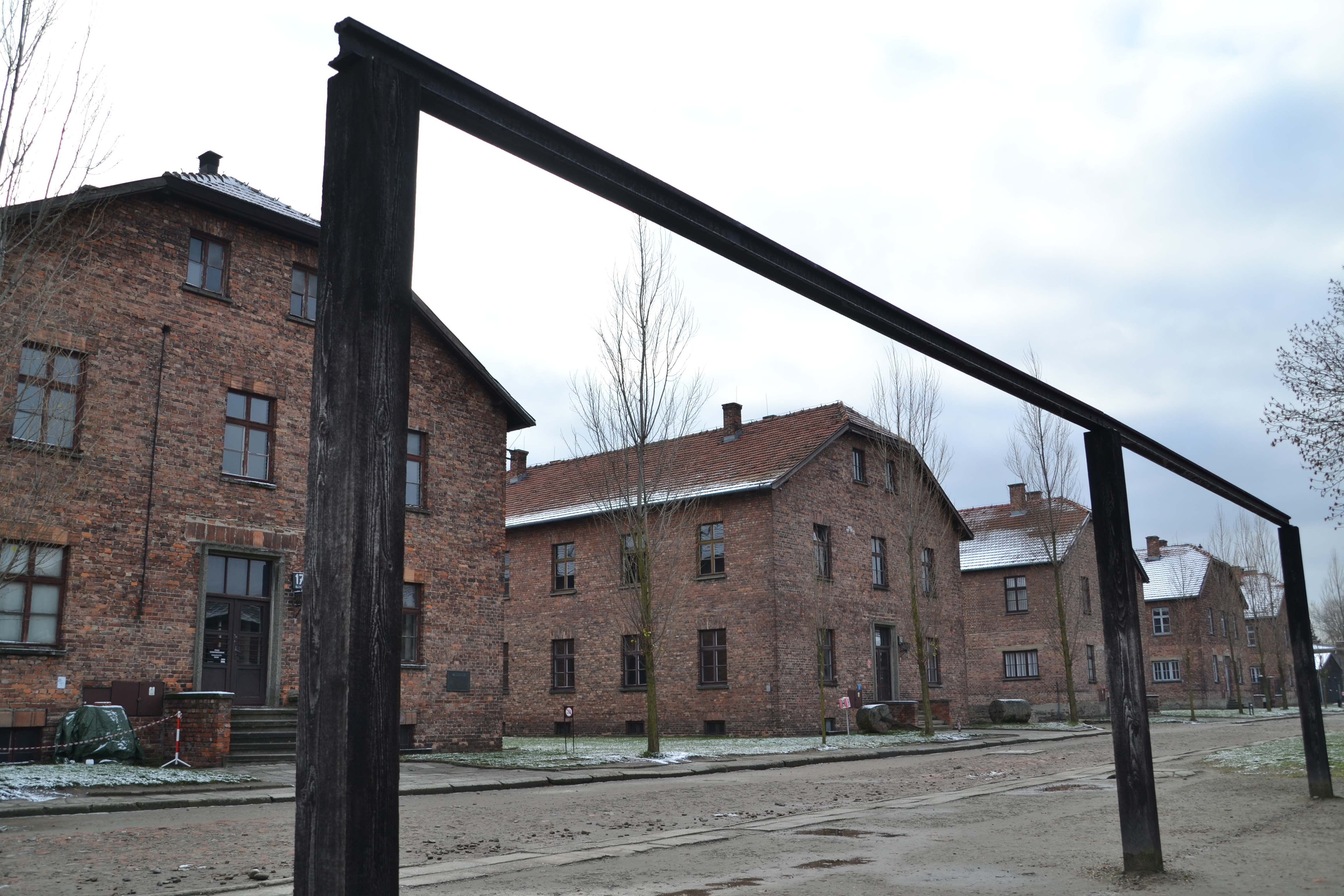 Gallows Auschwitz