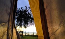 Camping on Lake Naivasha