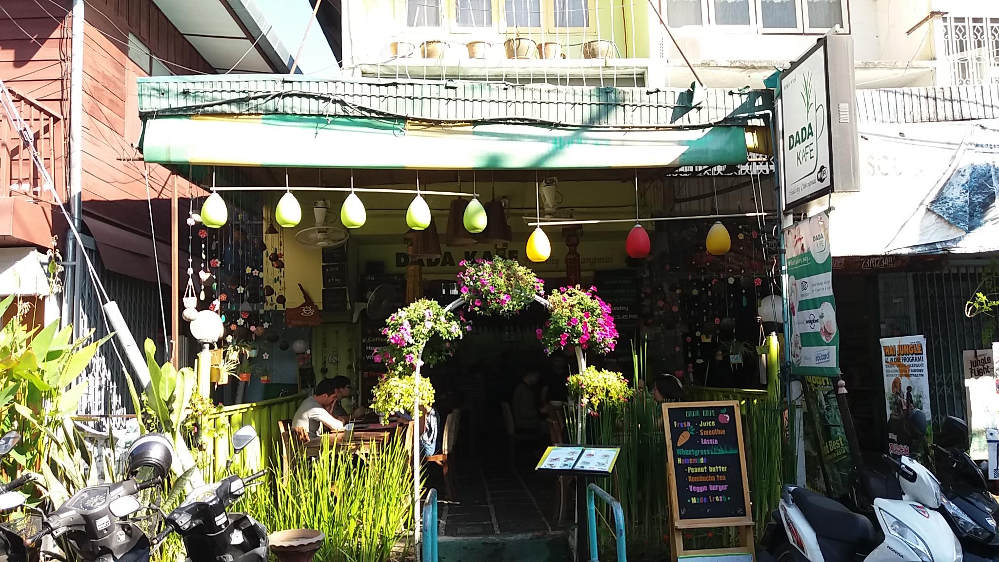 Dada cafe Chiang Mai
