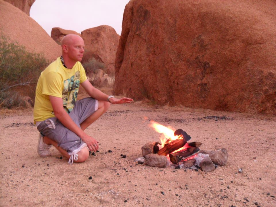 Overland tour in Africa