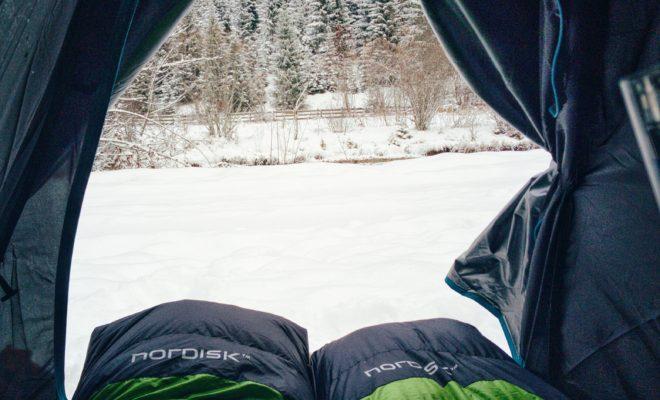 Snow tent PCT