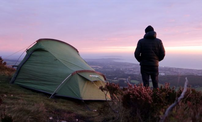 Camping on the Sugar Loaf