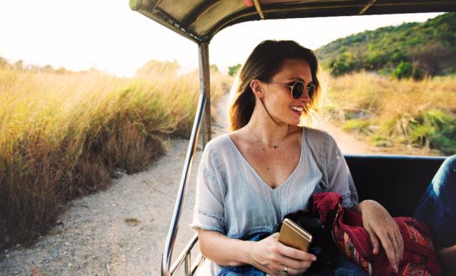 Girl Backpacking Africa