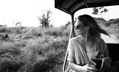 Woman on a Masai Mara Safari