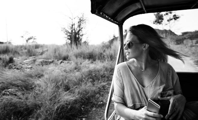 Woman on a Masai Mara Safari