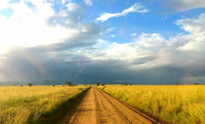 Overland tour road