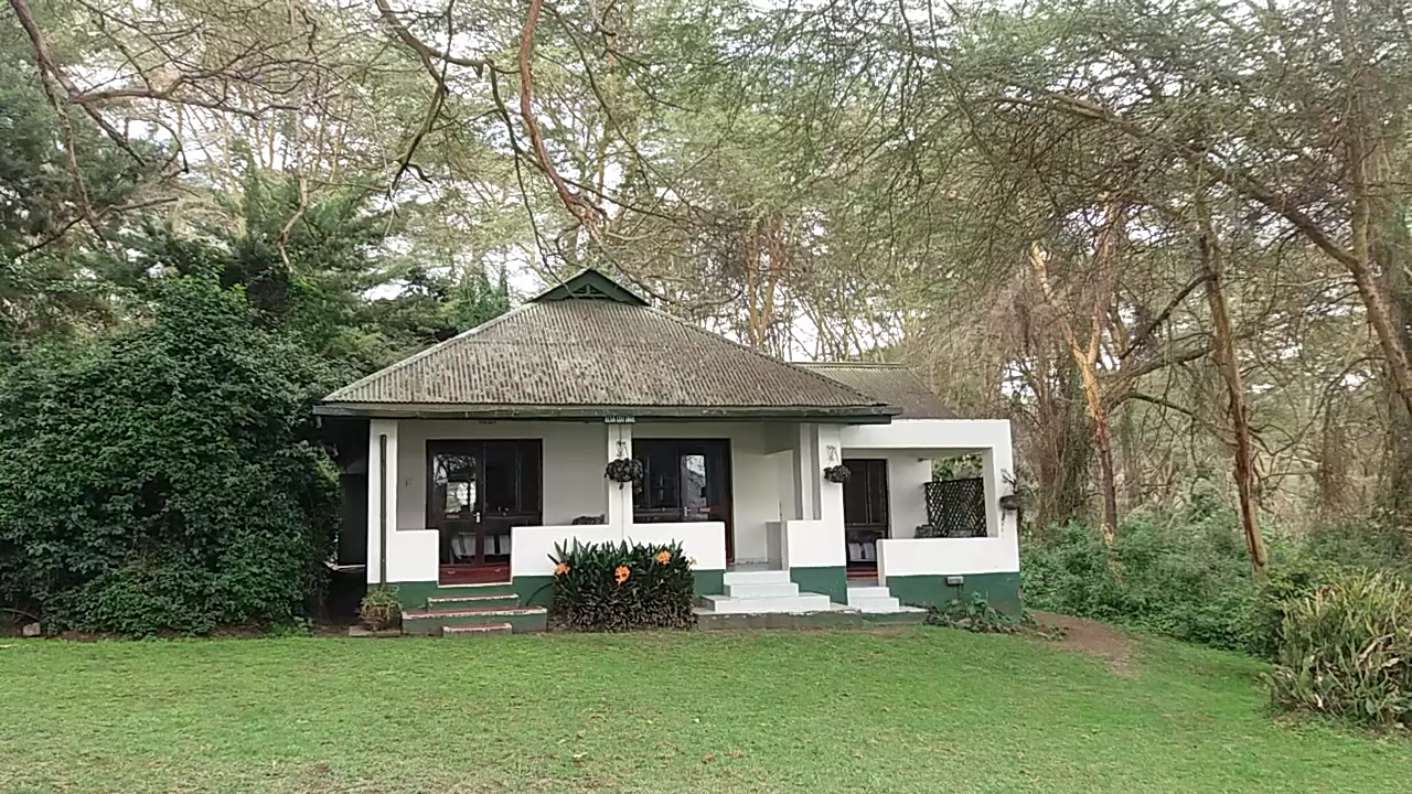 Room at Elsamere in Lake Naivasha